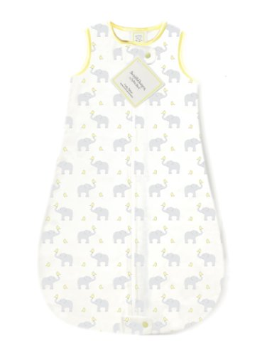 SwaddleDesigns Cotton Sleeping Sack with 2-Way