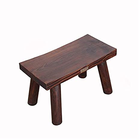 Phenomenal Amazon Com Ttd Hmhydp Lyx Small Bench Home Stool Wood Andrewgaddart Wooden Chair Designs For Living Room Andrewgaddartcom