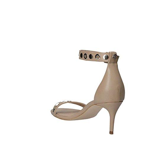 Correa Tacon Zapatos Tobillo Mujer de Footwear Guess Camel para Dress con Sandal y wqHwUX0W