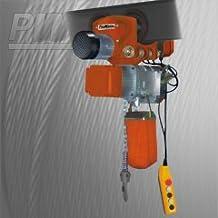 PROWINCH 1,100 lbs. 0.5 Ton. Chain Hoist Aluminium Power Trolley 110~120V 60HZ M2 / H1 20 ft G80 Chain