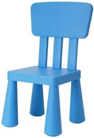 Ikea Mammut – Mesa Silla, Azul: Amazon.es: Hogar