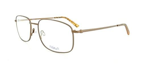 FLEXON Eyeglasses THEODORE 600 210 Brown 54MM by Flexon