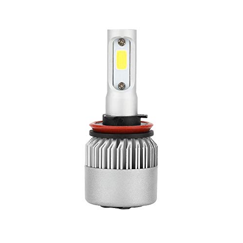 Car LED Headlight Bulbs 1Pcs Car Headlight Fog Light Bulb LED Driving Lamp Conversion Kit 36W 6000K White led H11