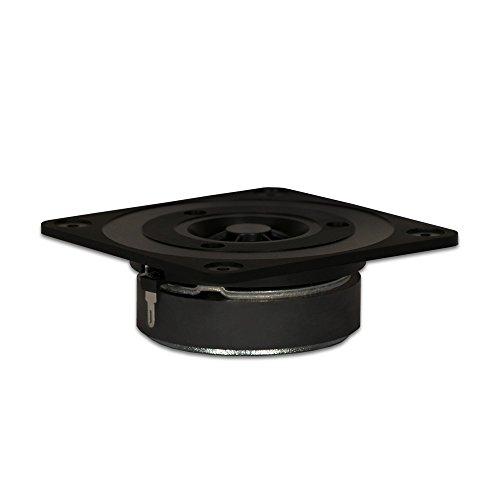 Goldwood Sound 120 Watts 8ohm Titanium Dome Speaker Tweeter Black (GT-322)