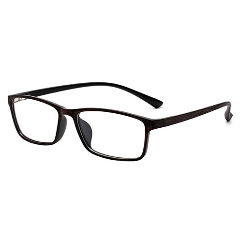 Myopia Glasses Stylish TR90 Frame Shortsighted Eyeglasses -0.50 to -6.00 for Men Women (-1.25) ***Please Kindly Note These are not Reading Glasses***