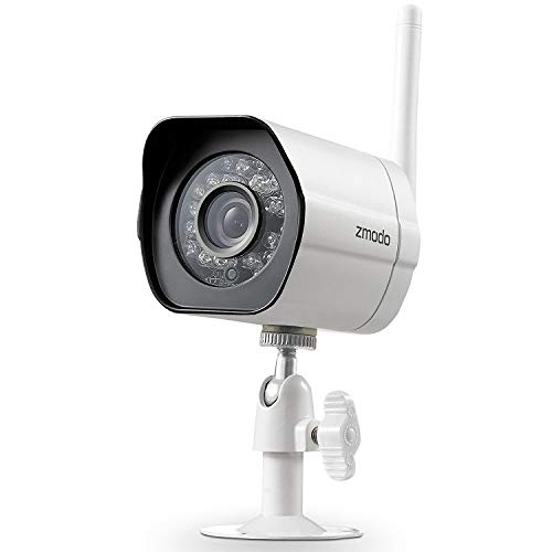 Zmodo WiFi Security Camera, Smart Home HD Indoor Outdoor WiFi IP Cameras with Night Vision, Cloud Service Available