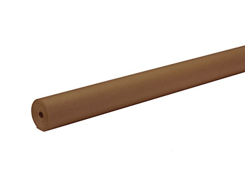 Pacon ArtKraft Duo-Finish Paper Roll, 4-feet by 200-feet, Brown (67024)