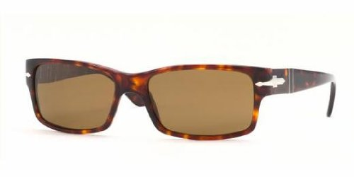 Persol Sunglasses - PO2803 / Frame: Havana Lens: Crystal Brown Polarized - Discount Persol