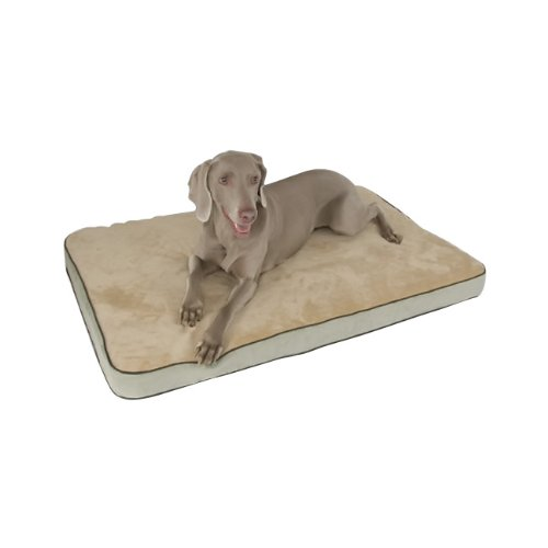 K & H Super-Soft, Safe And Cozy Memory Sleeper Dog Bed Small   Mocha
