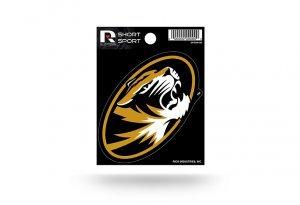 Rico Industries NCAA Missouri Tigers Die Cut Team Logo Short Sport Sticker