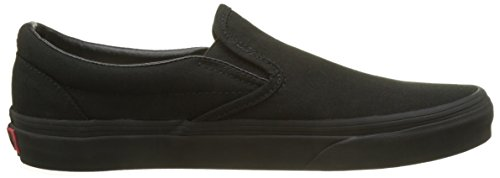 Vans Classic Slip-On Skate Shoes (10.0 D(M) US Mens/ 11.5 B(M) US Womens, Black/Black)