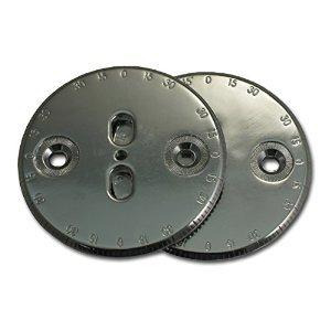 Ride Slot Compatible Kit Binding Discs Chrome -