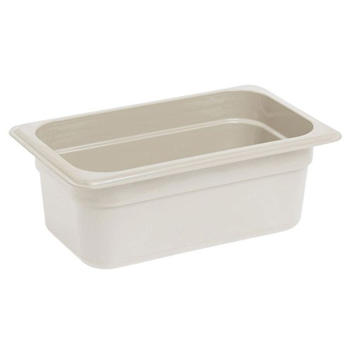 CAMBRO Camwear Hot Food Pan Sandstone Fourth Size 4''D by Cambro Manufacturing (Image #1)
