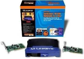 Linksys EtherFast Network Box unmanaged product image