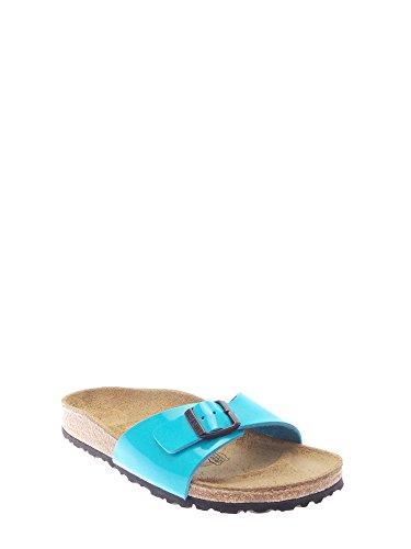 Birkenstock - Zuecos para mujer azul claro 4052001093020