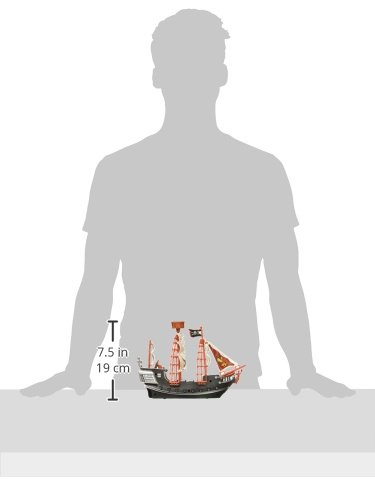 Oasis Supply Extra Large Pirate Ship Cake Topper - 10'' Long by Oasis Supply (Image #2)