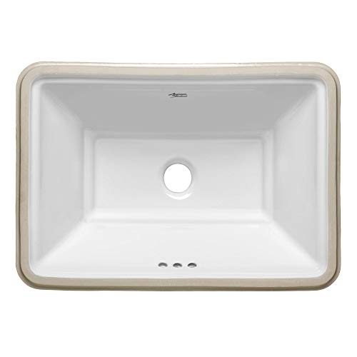 American Standard Single Bowl Sink - American Standard 0483.000 Estate 19-3/4