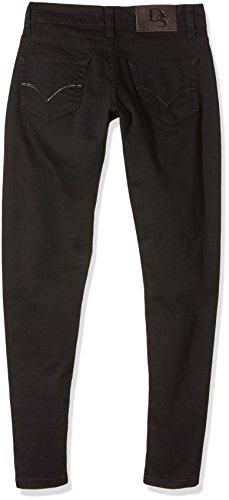 D`Sema Skinny Black, Pantalones para Mujer Azul (Schwarz)
