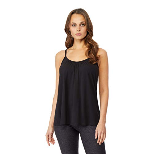 Camisole Cami (32 DEGREES Womens Cool Relaxed Bra Cami, Black, XLarge)