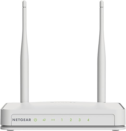 NETGEAR N300 Wi-Fi Router with High Power 5dBi External Antennas (WNR2020v2)