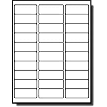 """MFLABEL 30-UP 100 Sheets 1"""" X 2-5/8"""" Shipping Labels USPS Mailing SKU Labels (3000 Labels)"""