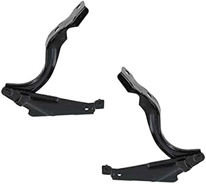 Partomotive For 03-08 Corolla /& Matrix 1.8L Front Hood Hinge Bracket Left Right SET PAIR