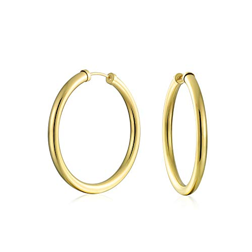 Gold Filled Loop - 10K Yellow Gold Filled Classic 42mm High-Polish
