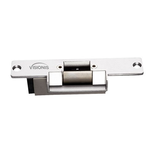 Visionis VIS-EL101-FSA 1,100lbs Stainless Steel Electric Door Strike for Wood and Met VIS-EL101-FSA 1,100lbs Stainless Steel Electric Door Strike for Wood and Metal Doors 12v Fail Safe Normally Closed