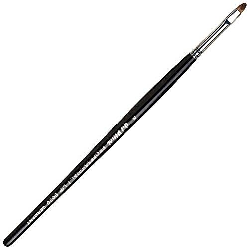 - da Vinci Cosmetics Series 9620 Professional Lip Brush, Oval Russian Red Sable, Size 2, 11.5 Gram