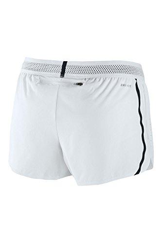 Nike Womens Aeroswift Race Shorts Weiß