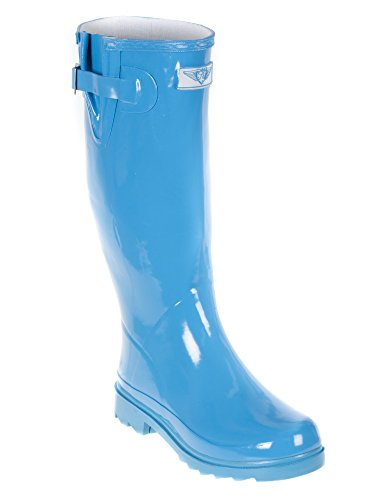 Womens Wellie Forever Young Boot Rain Light Blue 5q1Swg1