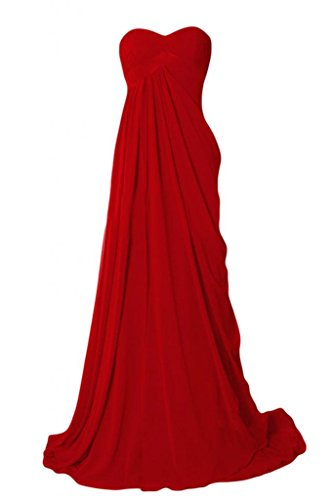 Rosso Sunvary Sunvary Vestito Rosso Donna Vestito Donna Sunvary 6W0UnUC