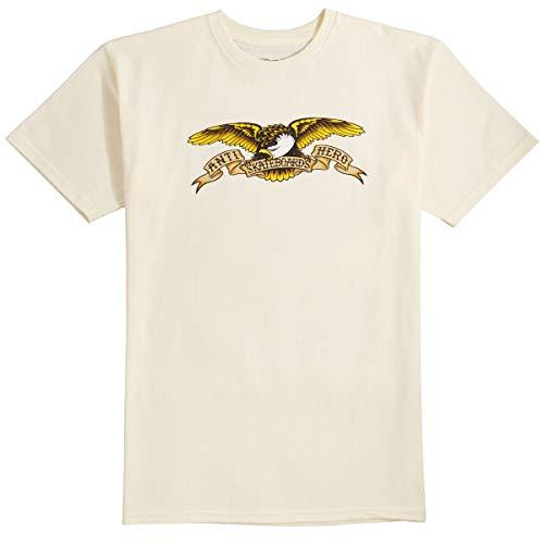 Anti-Hero Eagle T-Shirt - Cream - XL (Eagle Hero Anti)