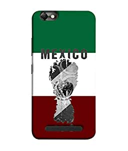 ColorKing Football Mexico 05 Multicolor shell case cover for Lenovo Vibe C