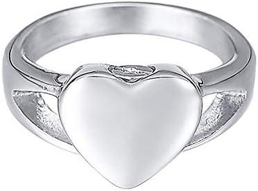 [ホーアムアイ]HooAMI 遺骨指輪 メモリアルリング ステンレス レディース 指輪 ハート 手元供養 遺灰 納骨ジュエリー