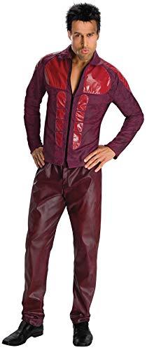 Derek Zoolander Costume, Burgundy, Standard -