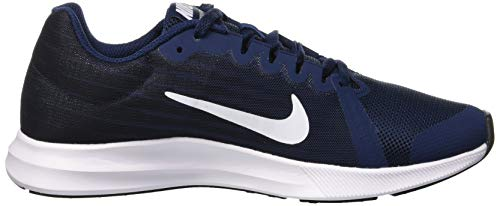 400 Fille Obsidian black white Running De midnight Downshifter gs Nike Chaussures dark Bleu 8 Navy vOnx67qvYZ