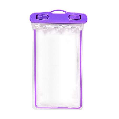 Ktyssp Luminous PVC Mobile Phone Waterproof Bag Swimming Camera Waterproof Cover -