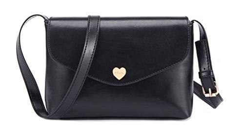 Shoulder Bags Nodykka Envelope Messenger Cross Body Bag Clutches Women Handbags Purse (black) ()