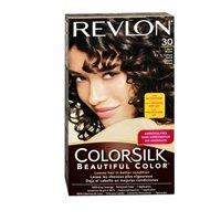 Revlon ColorSilk Hair Color, 30 Dark Brown 1 ea...