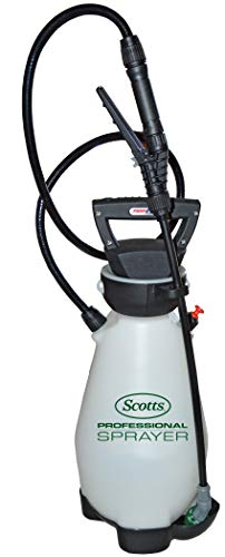 - Scotts 190567 Lithium-Ion Battery Powered Pump Zero Technology Sprayer, 2 Gallon White