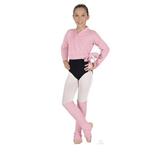 Eurotard Girls Classic Wrap Sweater 72523C -Pink M