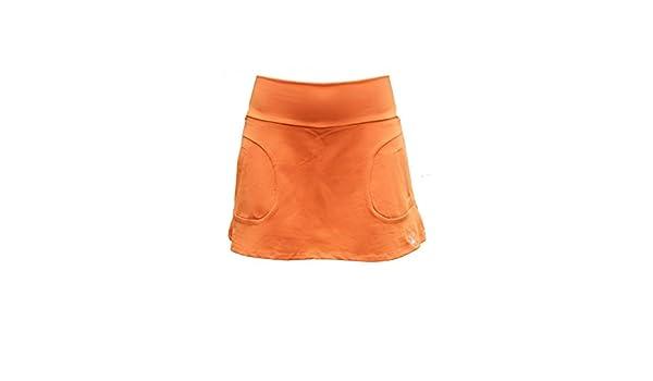 La Mouche Padel Falda Modelo básico Naranja: Amazon.es: Deportes y ...