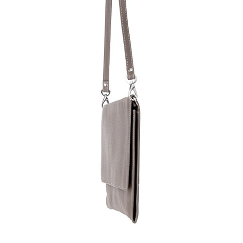Dudu - Sac porté épaule - Dollaro - Stella - Gris - Femme