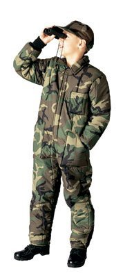 Rothco Boy's Insulated Coverall Camo - Small ()
