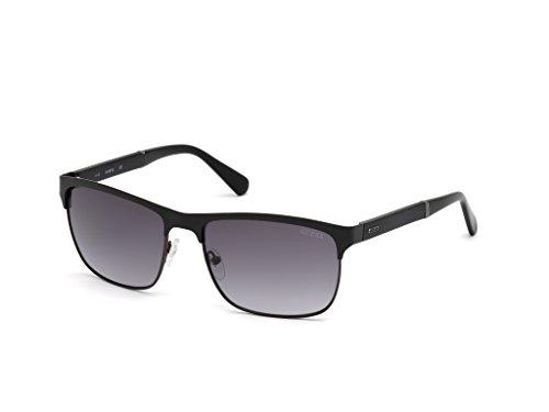 amp; Gradient Black Men's Guess Smoke Sunglasses Clubmaster Vincent Matte xYCSCqwFB