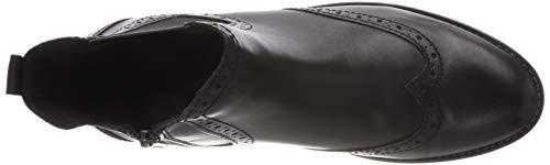 Nero 31 Chelsea black Tozzi Marco 25365 Donna Antic Stivali 002 Premio q1txU80