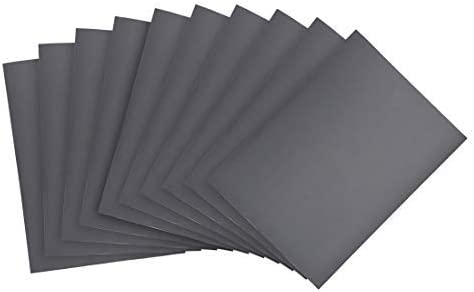 Sanding sheets 1000 Grits 9 inch x 11 inch dry and wet silicon carbide sandpaper for wood furniture Metal Polished automotive 10 pieces