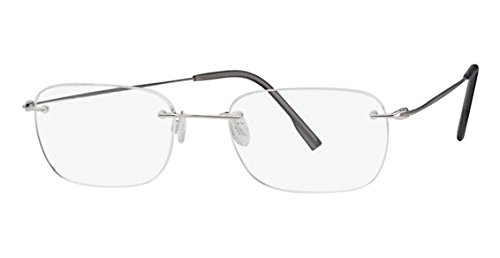 Frame Klein Calvin (Calvin Klein Collection CK536 Eyeglasses CK536 030 Silver Demo 52 19 150)