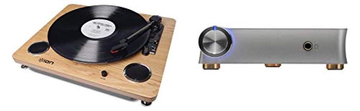 [해외] 【하이레조녹소리에】ION AUDIO ARCHIVE LP + KORG USB DAC 디지탈→아날로그 변통기 세트